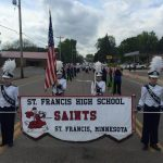 SFHS Marching Band Hits the Summer Parade Routes