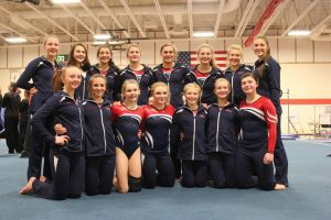 2014 – 2015 Girls Gymnastics