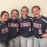 Saint Francis High School Varsity Softball falls to Buffalo High School 4-3