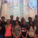 Saints volunteer at Feed My Starving Children