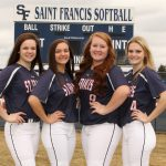 Saint Francis High School Varsity Softball falls to Blaine High School 9-1