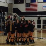 Varsity Volleyball grabs another conference win