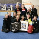 Saints Gymnastics Falls to Big Lake at Senior Night Meet