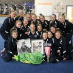 Saints Gymnastics Takes 1st Place Against Chisago Lakes in Summer's Senior Night Meet