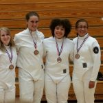 Centennial Fencers Shine at Home Tournament