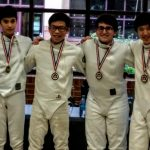 Miller Medals, CHS Fencers Continue to Climb State Rankings