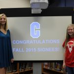 Two Athletes Sign National Letters of Intent