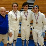 Bray Leads Heavy Medal Count for Knights Fencing