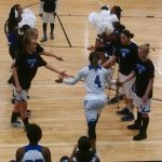 Centennial High School Girls Varsity Basketball falls to South Forsyth High School 55-24