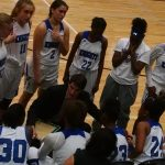 Centennial High School Girls Varsity Basketball falls to Northview High School 56-23