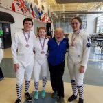 Gold, Silver, and Bronze for CHS Fencers