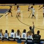 Centennial High School Girls Varsity Basketball beat West Forsyth High School 42-30