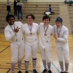 Leon, Fritts Lead Fencing Knights
