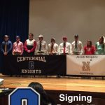 Nine Knights Sign National Letters of Intent