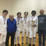 Knights Men Stun Rivals To Take 3rd in State, Lady Fencers Finish a Strong 5th