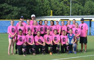 Pink Out game on Tuesday 8/15 vs. Johns Creek.