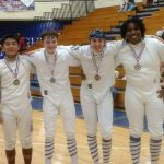 Centennial Fencers Medal-some at Home, Maintain Top Ranking