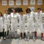 Gold and Silver for Centennial Fencers