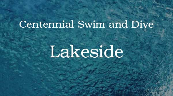 Centennial Swim and Dive Competes at Lakeside Invitational