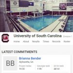 Bender  Makes Verbal Commitment to Swim at USC