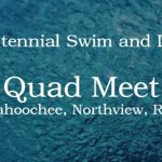Knights Swim to Victory at Quad Meet