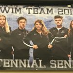 Knights Swim & Dive Celebrate at Senior Night