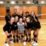 Volleyball Playing for Postseason