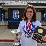 Gray Earns 3 Individual State Titles and an Overall Team Title