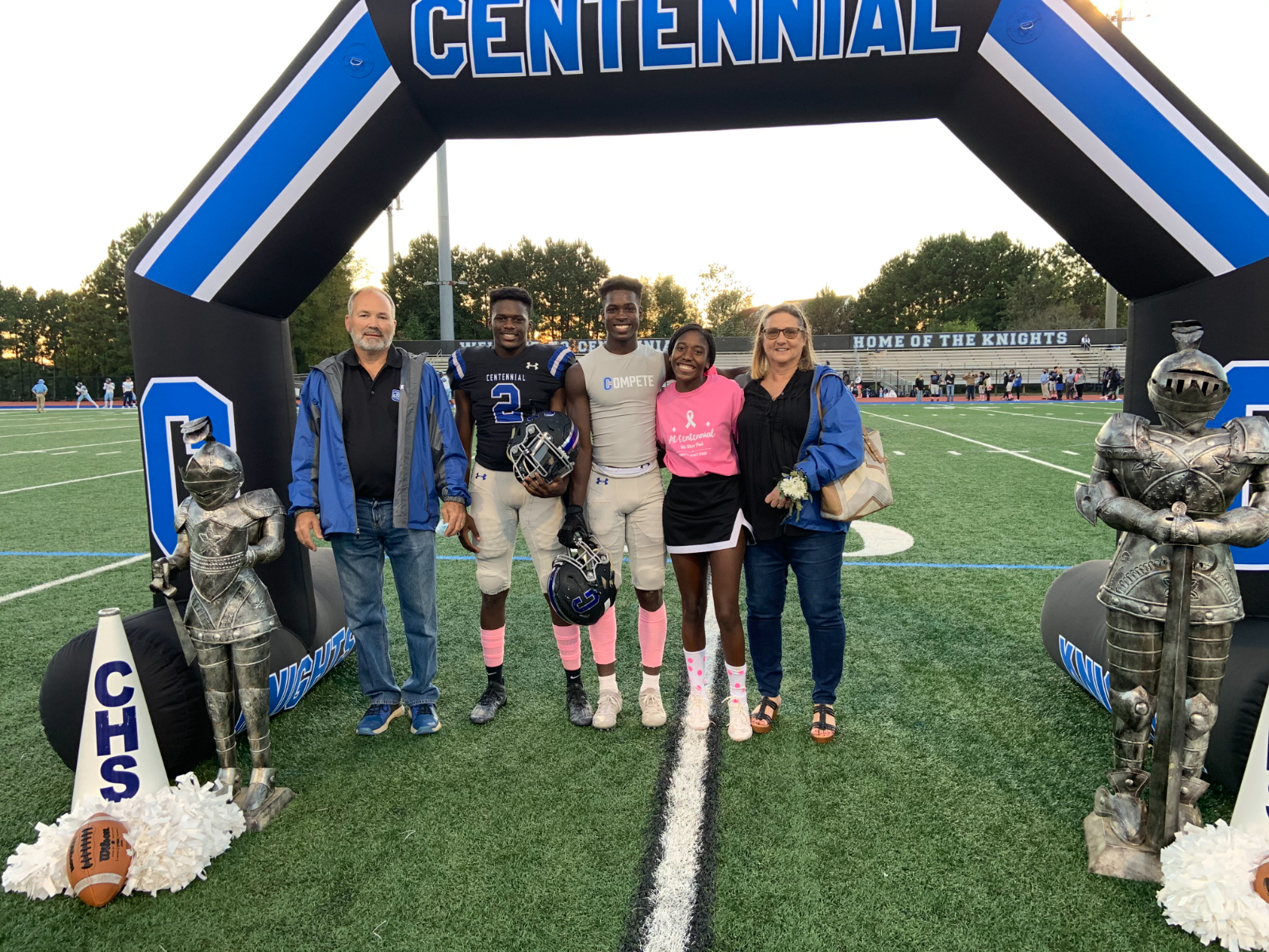 Football Senior Night 2020