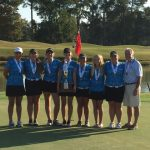 Lady Sharks Golf State Runner Up