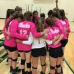 St James High School Girls Varsity Volleyball falls to Myrtle Beach High School 3-1