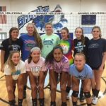 St James High School Girls Varsity Volleyball beat Marlboro County High School 3-0