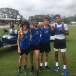 St James High School Boys Varsity Track finishes 3rd place