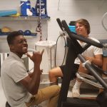 Varsity Football Players Physical Training