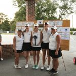St James High School Girls Varsity Golf finishes 1st place