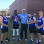 Boys Varsity Track finishes 1st place at Alan Connie Relays