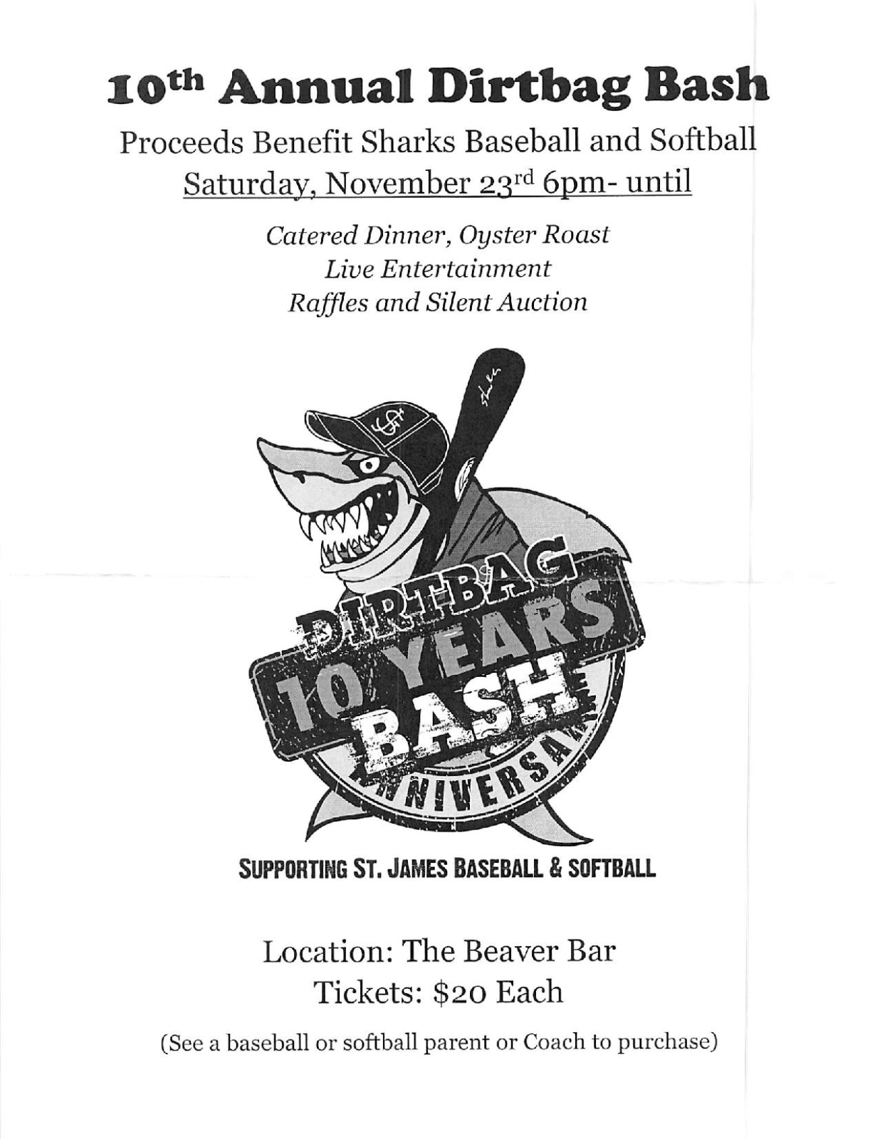 10th Annual Dirtbag Bash