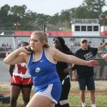 Girls track traveled to Waccamaw for a duel meet.