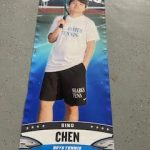 Our senior Athlete of the day, tennis player Sing Chen