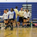 Volleyball teams play Chesterfield tonight at home – Come support your Warriors!