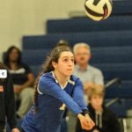 Warrior Volleyball Player Signs with College