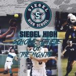 Siegel Scholar Athlete of the Month – September 2018
