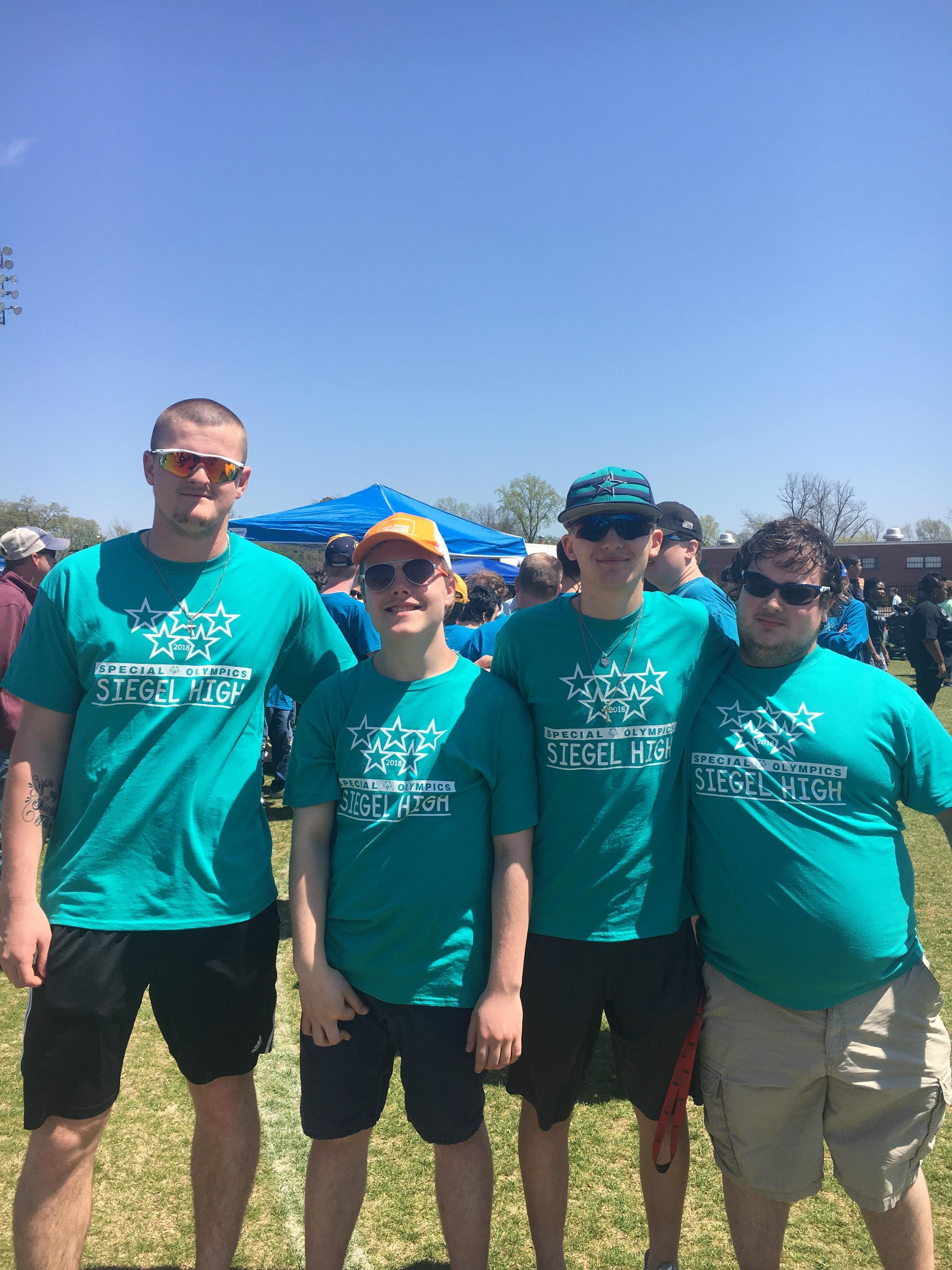 Special Time at the Special Olympics