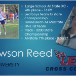 Dawson Reed Signs with Lee University
