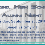 Welcome Back Alumni! – Announcing the First Siegel Alumni Night