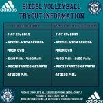 Volleyball Tryouts Date Set