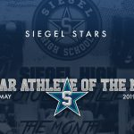 Siegel Scholar Athletes of the Month – May 2019