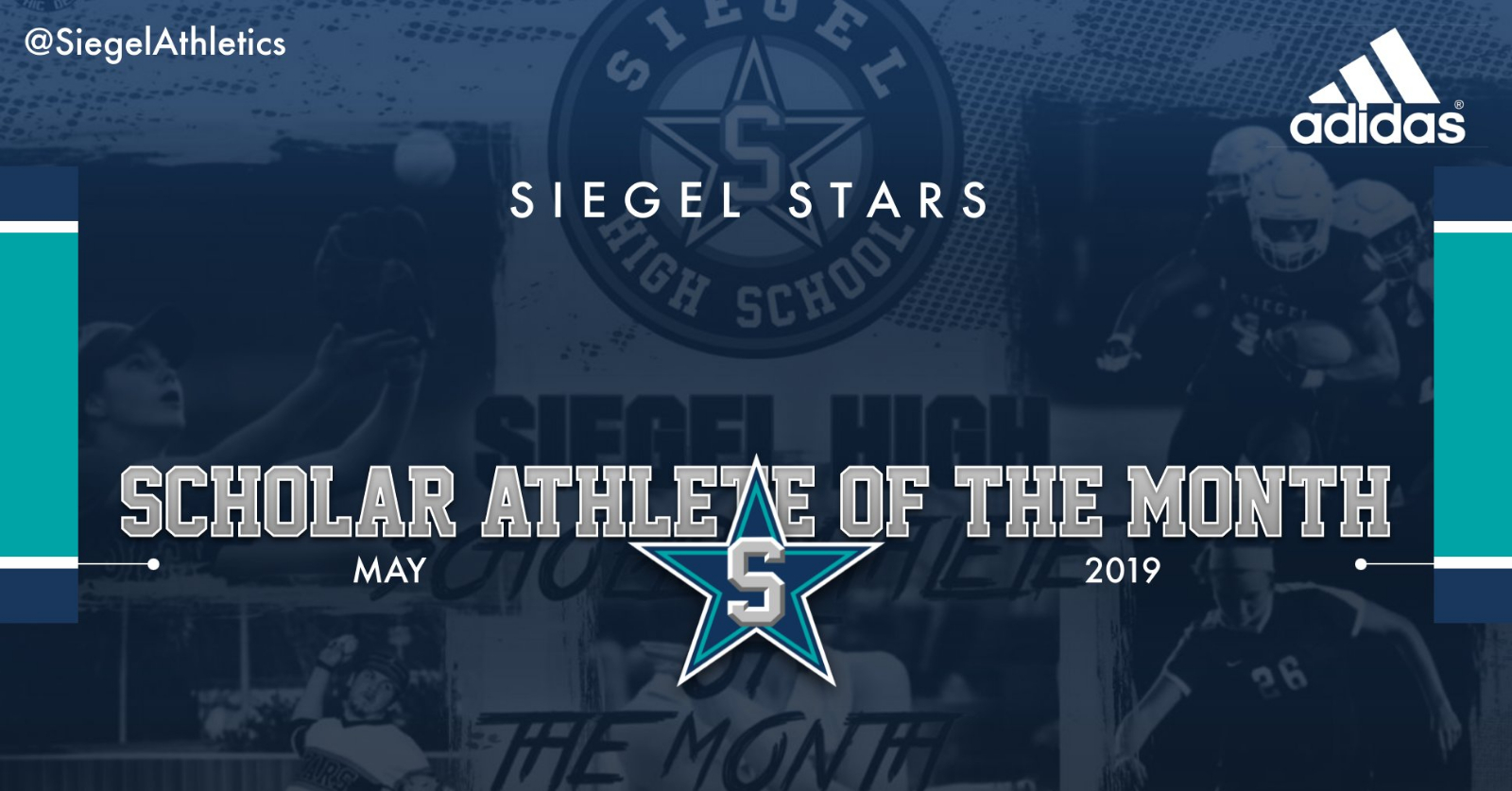 Siegel Scholar Athletes of the Month – September 2019