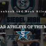 Siegel Scholar Athletes of the Month – December 2019