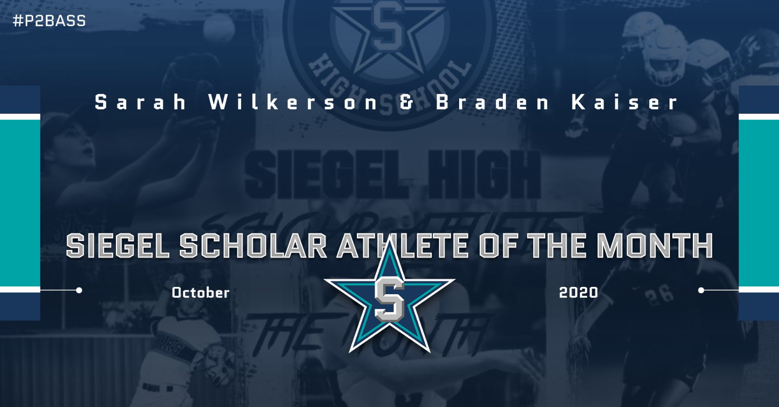Siegel Scholar Athletes of the Month – October 2020